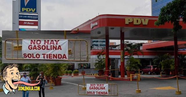 46 bombas de Gasolina cerradas por falta de combustible en Caracas