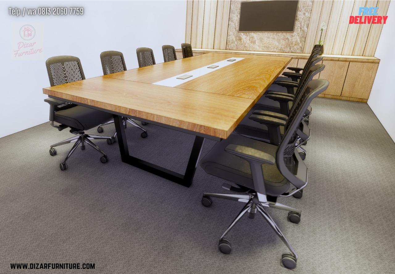 Meja Meeting office bekasi,cikarang