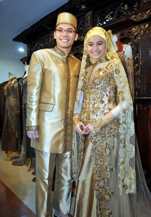 Contoh Model Kebaya Pengantin Muslim Modern Terbaru Inspirasi Baju
