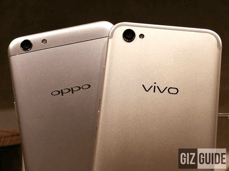 OPPO F3 Vs Vivo V5 Plus Specs Comparison