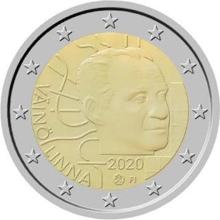 2€ kolikko linna 2020
