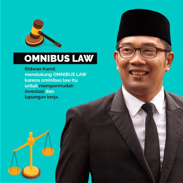 Ridwan Kamil Dukung Omnibus Law
