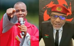 Contract Scandal: Nnamdi Kanu Tells Igbos What To Do About Father Mbaka