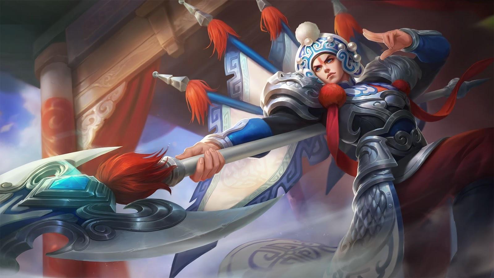 Wallpaper Zilong Changbanpo Commander Skin Mobile Legends Full HD for PC
