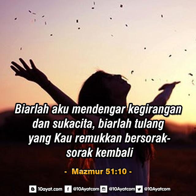 Mazmur 51:10