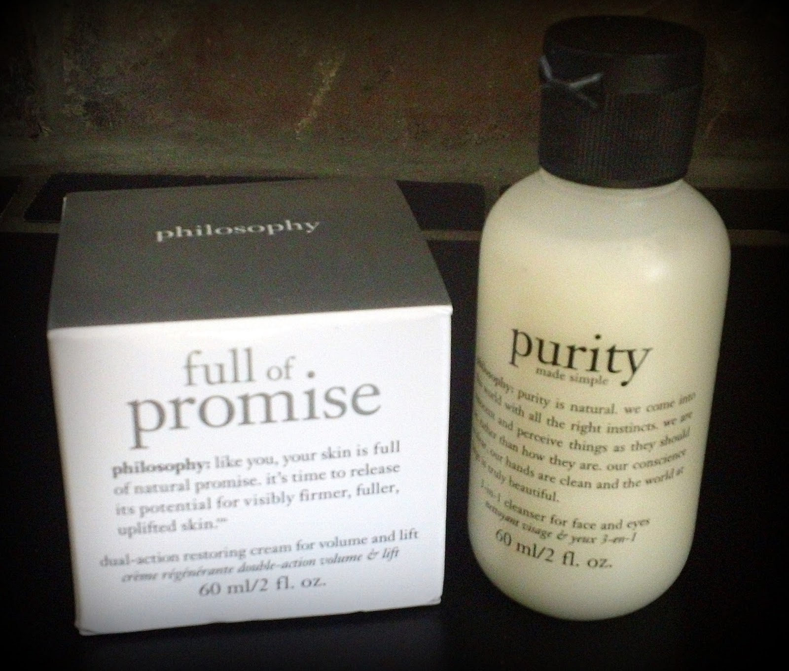 Philosophy Full of Promise, Philosophy Purity Wash, Luxury Skin Care