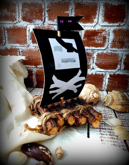 плот, пиратский, интерьер, декор