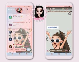 Anime Girls Theme For YOWhatsApp & Fouad WhatsApp By Ariana