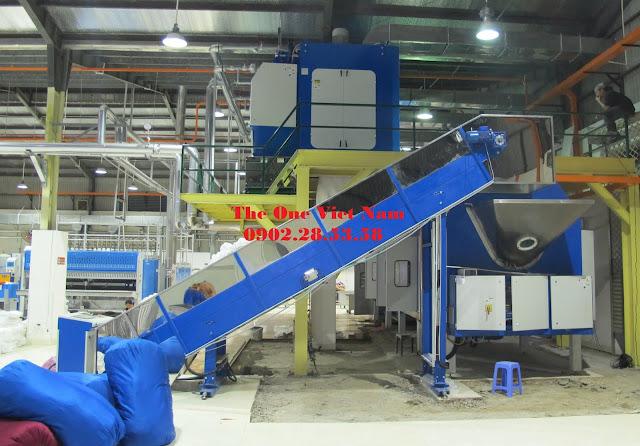 Máy giặt đường hầm công suất lớn