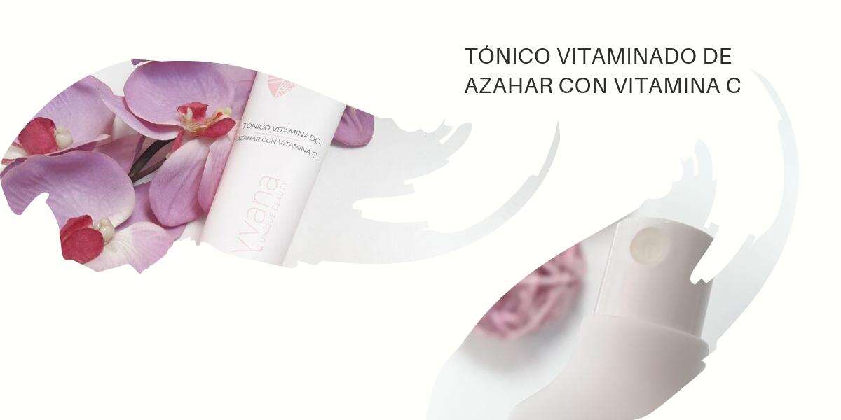 TÓNICO VITAMINADO DE AZAHAR CON VITAMINA C
