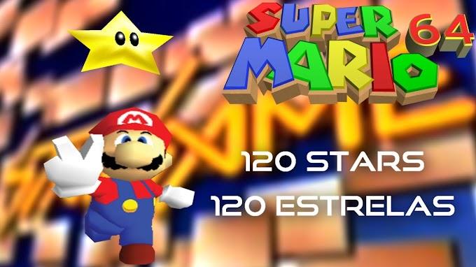 Super Mario 64 - Detonado para conseguir as 120 estrelas