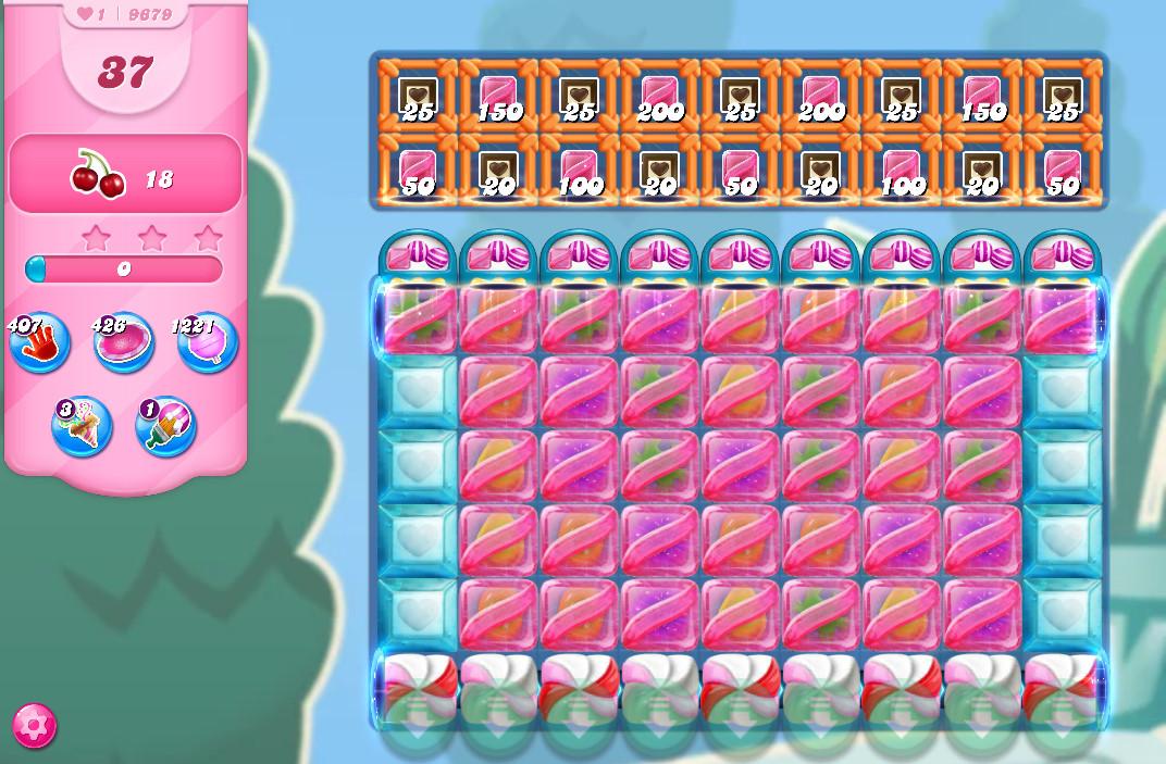Candy Crush Saga level 9679