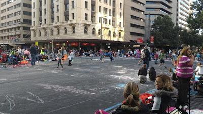 Menjelang Natal di Adelaide