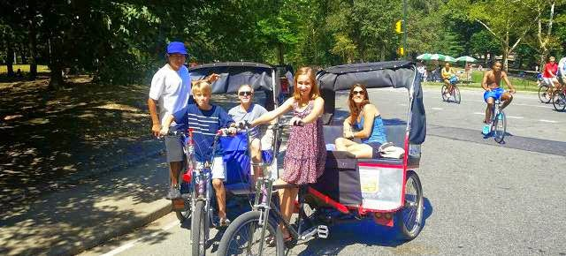 New York Pedicab Rickshaw Tours