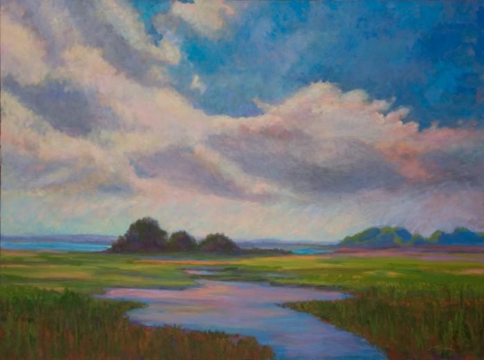 Свет, цвет и любовь к природе. Janet Howard-Fatta