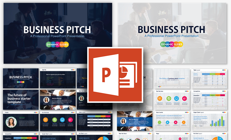Free Pitch PowerPoint Template