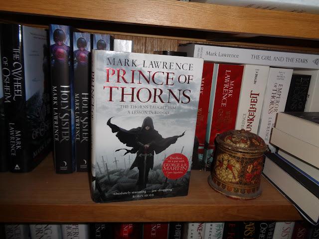Prince of Thorns signed hardback giveaway!