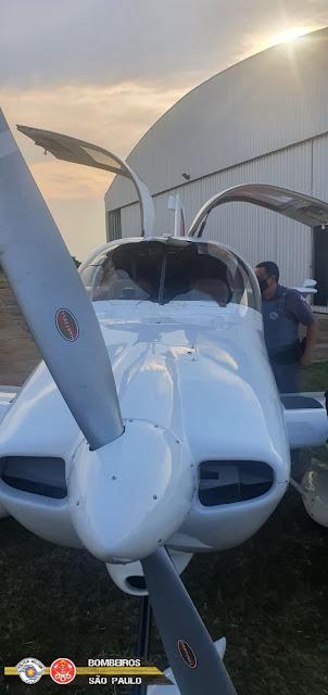 Colisão entre urubu e aeronave provoca pouso de emergência em Regente Feijó