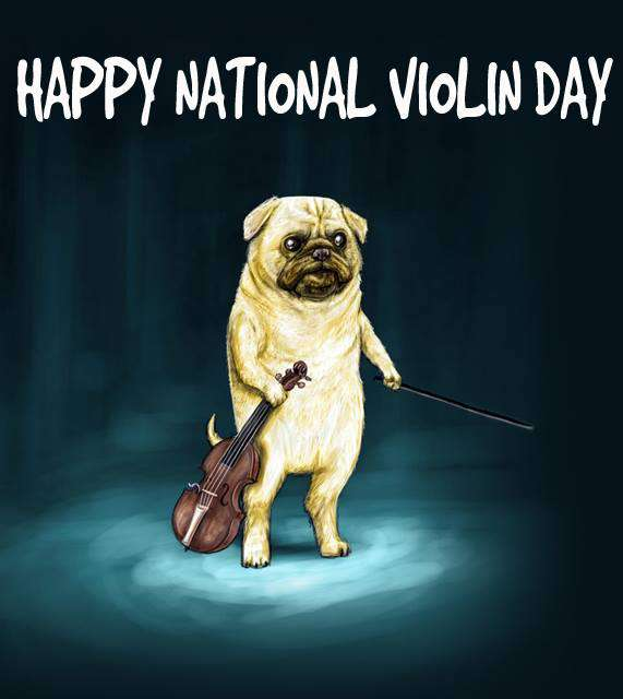 National Violin Day Wishes Photos