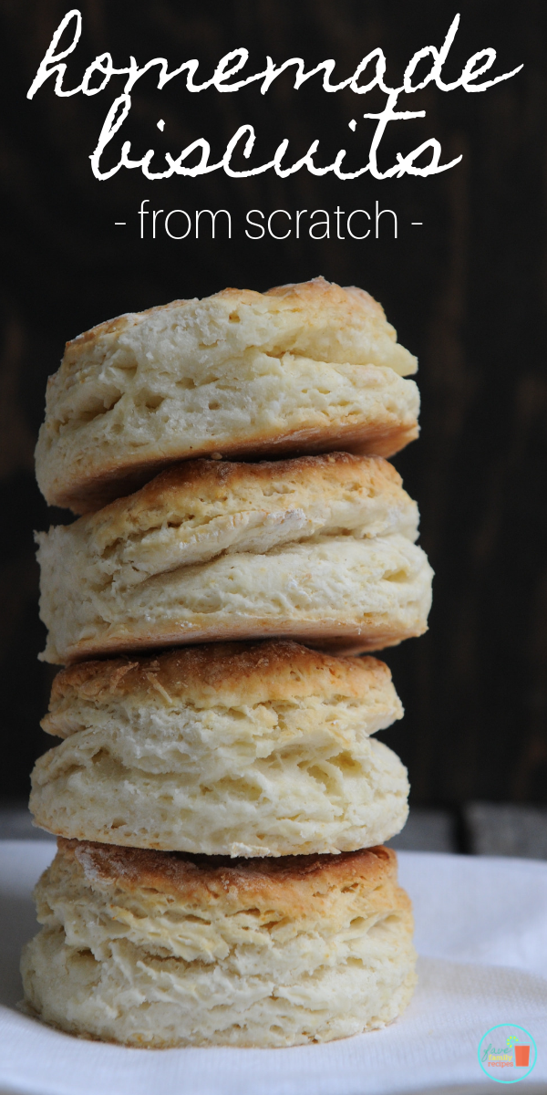 How To Make Homemade Biscuits From Scratch