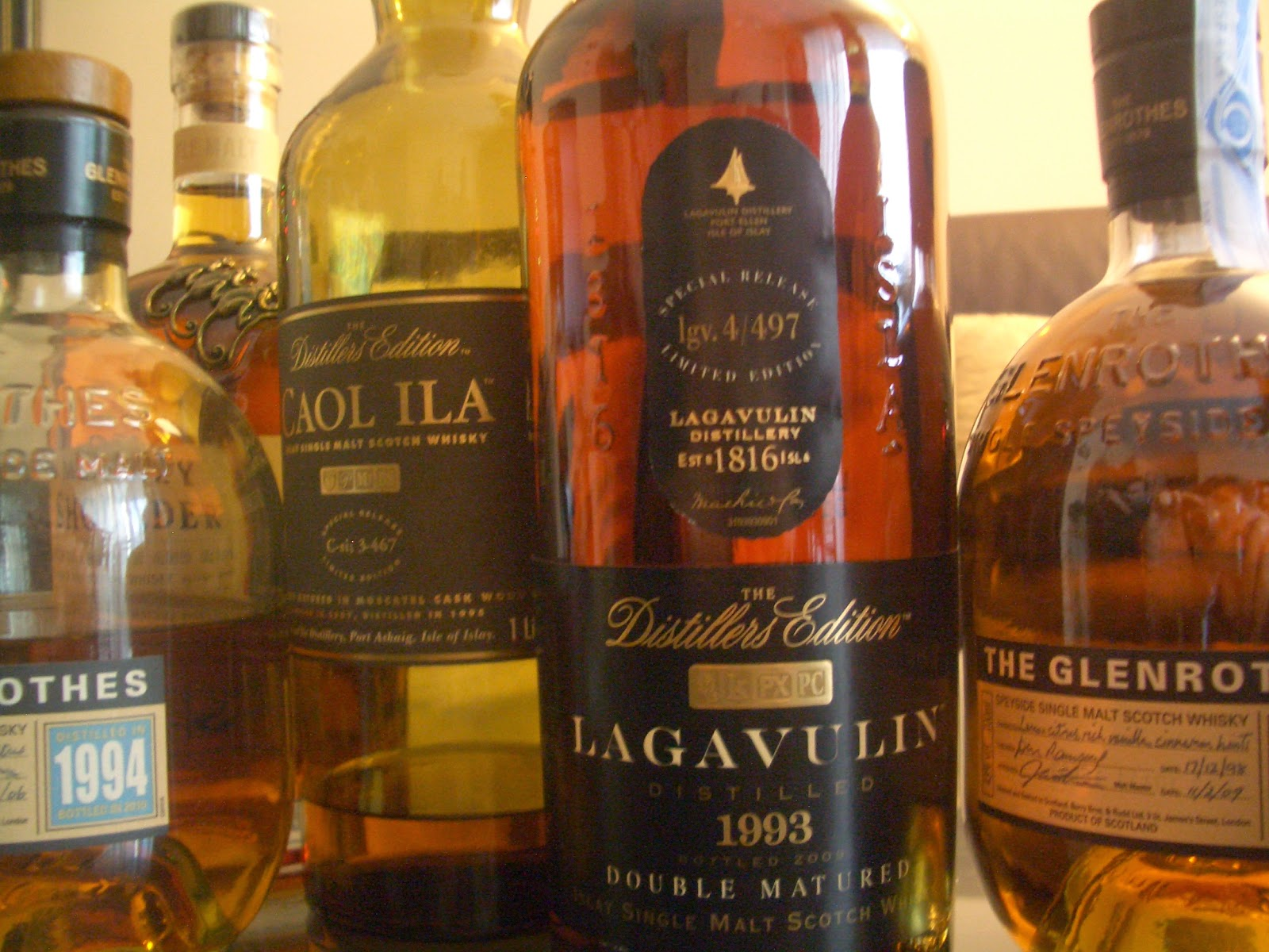Introducción al Whisky - Whisky - güisqui - RAE - The Glenrothes - Caol Ila - Lagavulin - Monkey Shoulder - Álvaro García - alvarogp - el gastrónomo - el troblogdita