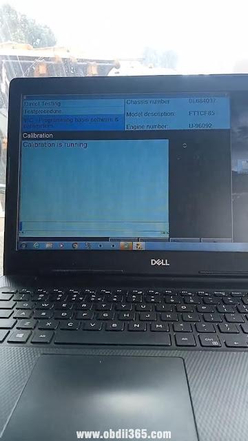 Program DAF VIC3 with DAVIE 15