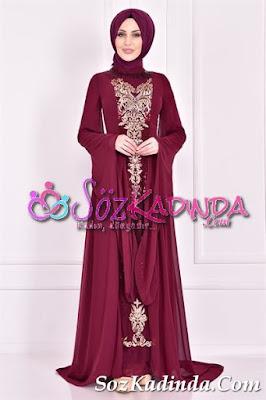 pullu en güzel abiye elbise modelleri ve fiyatları