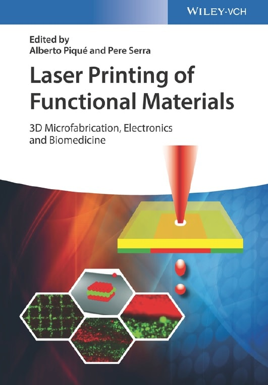 Laser Printing of Functional Materials: 3D Microfabrication, Electronics and Biomedicine