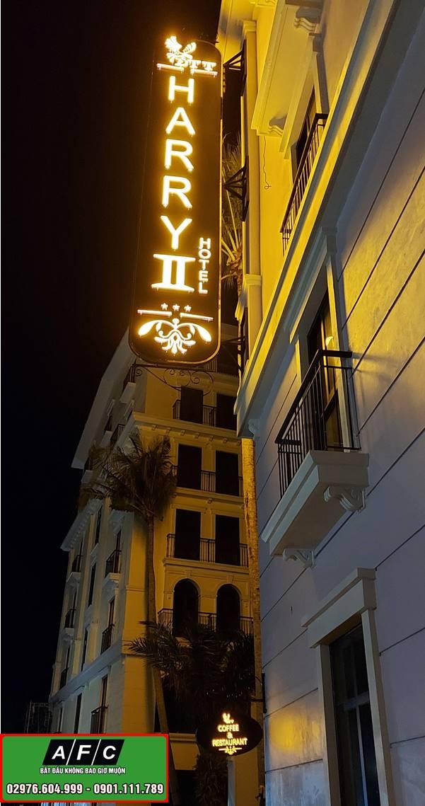Thi công bảng hiệu Khách sạn tại Phú Quốc