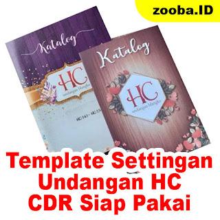 Download Settingan Undangan HC