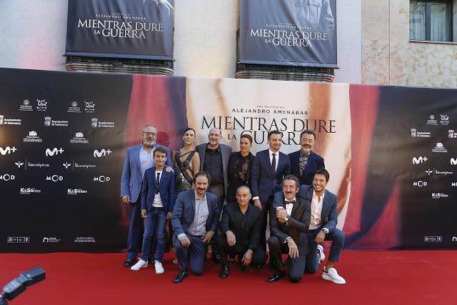 Alejandro Amenábar reparto 'Mientras dure la guerra'