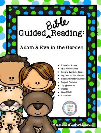 Bible Fun For Kids: Adam and Eve in the Garden