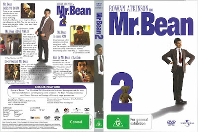 Série Mr. Bean 2º Temporada DVD Capa