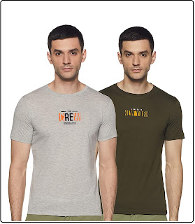 Two Paired T-shirts For Men