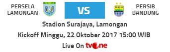 Persela Lamongan vs Persib Bandung
