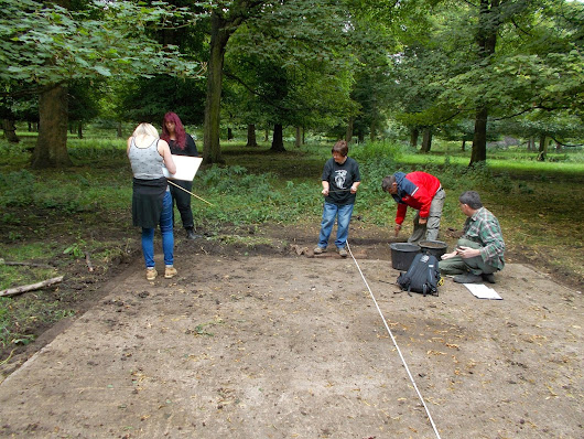 1 August 2014, Hickleton Hall POW Project Day 10