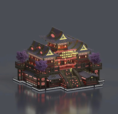 Voxel Art of the Month - April