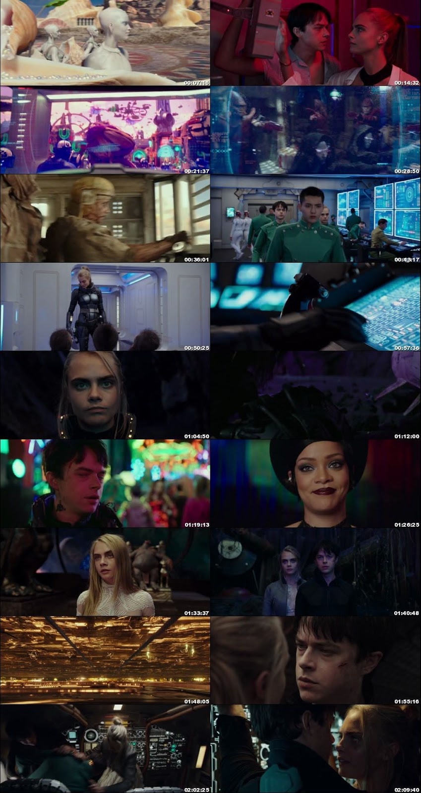 Download Valerian and the City of a Thousand Planets 2017 Dual Audio DD 5.1ch ORG Hindi 1GB BluRay 720p movie