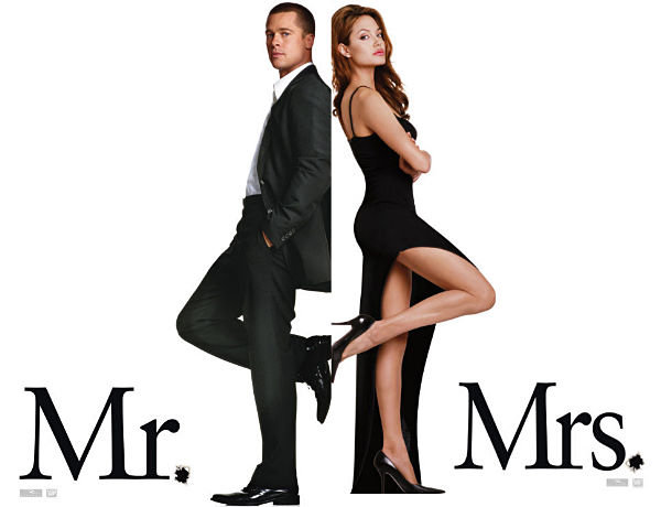 Mr.&Mrs.Smith Angelina Jolie, Brad Pitt