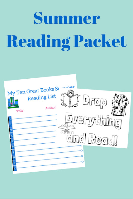 Free printable summer reading