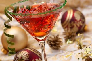 cocktail di natale immagine