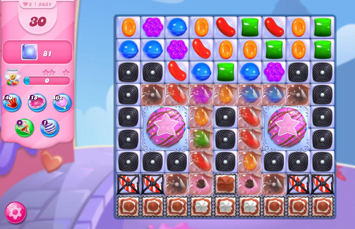 Candy Crush Saga level 5631