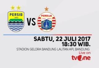 Jadwal Kickoff Persib Bandung vs Persija Jakarta Sabtu 22/7/2017 Tetap Pkl 18.30 WIB