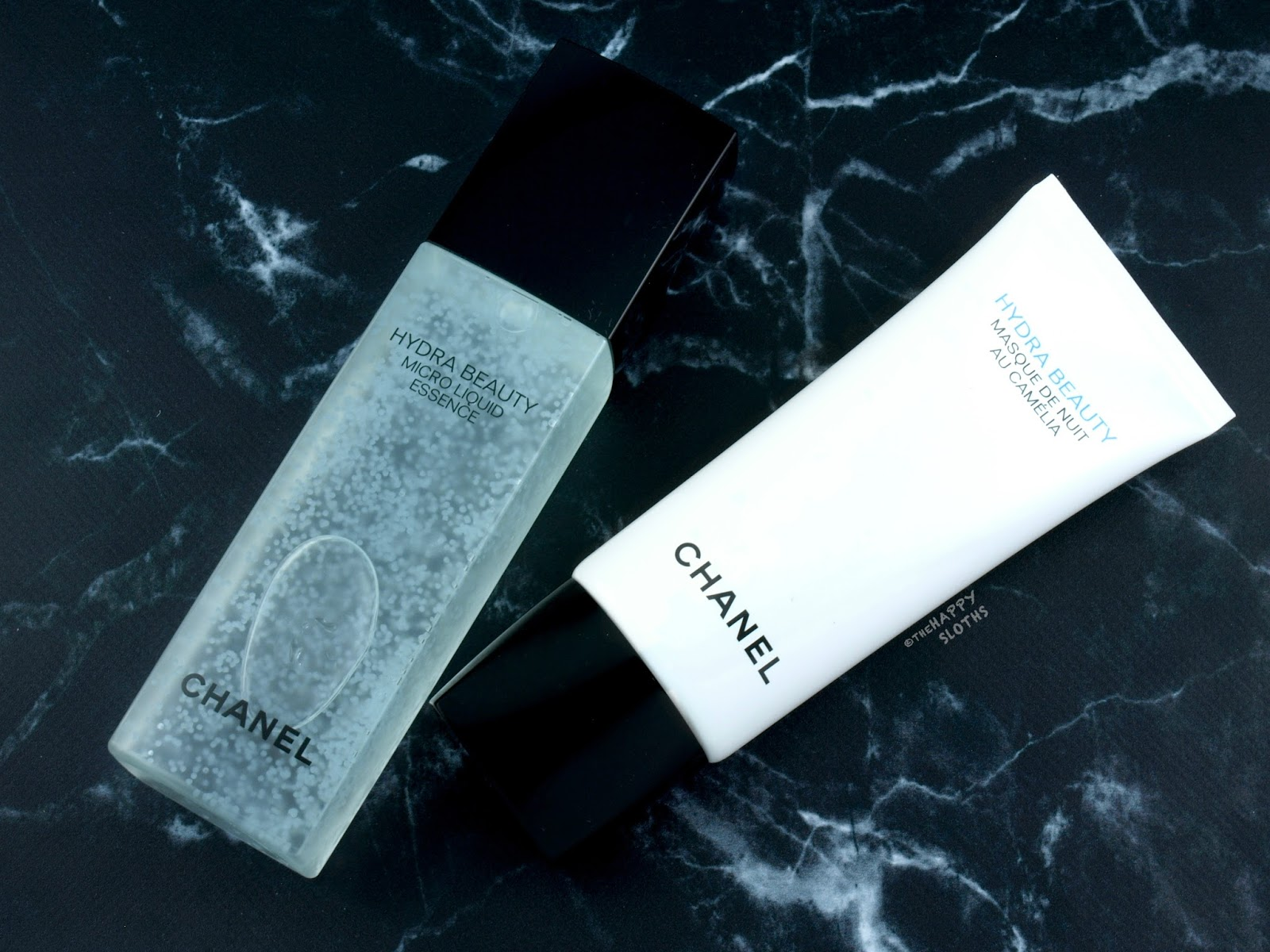 Chanel | Hydra Beauty Micro Liquid Essence & Masque de Nuit au Camélia: Review