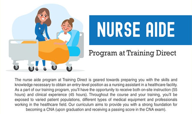 Nurse Aide Program at Training Direct