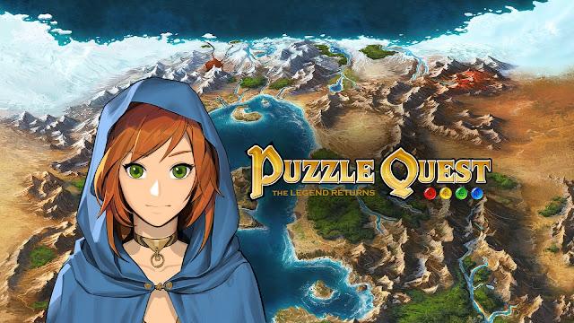 Puzzle Quest: The Legend Returns (Switch) já está disponível, confira o trailer