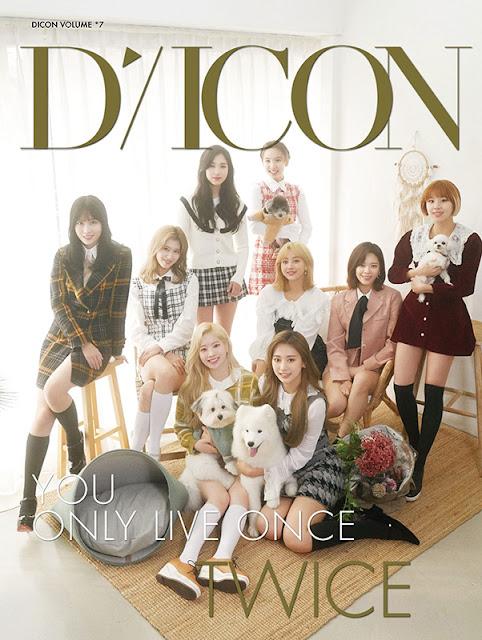 TWICE D'ICON Japan Edition