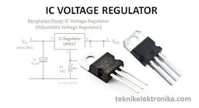 Fungsi serta Cara Kerja IC Regulator mobil