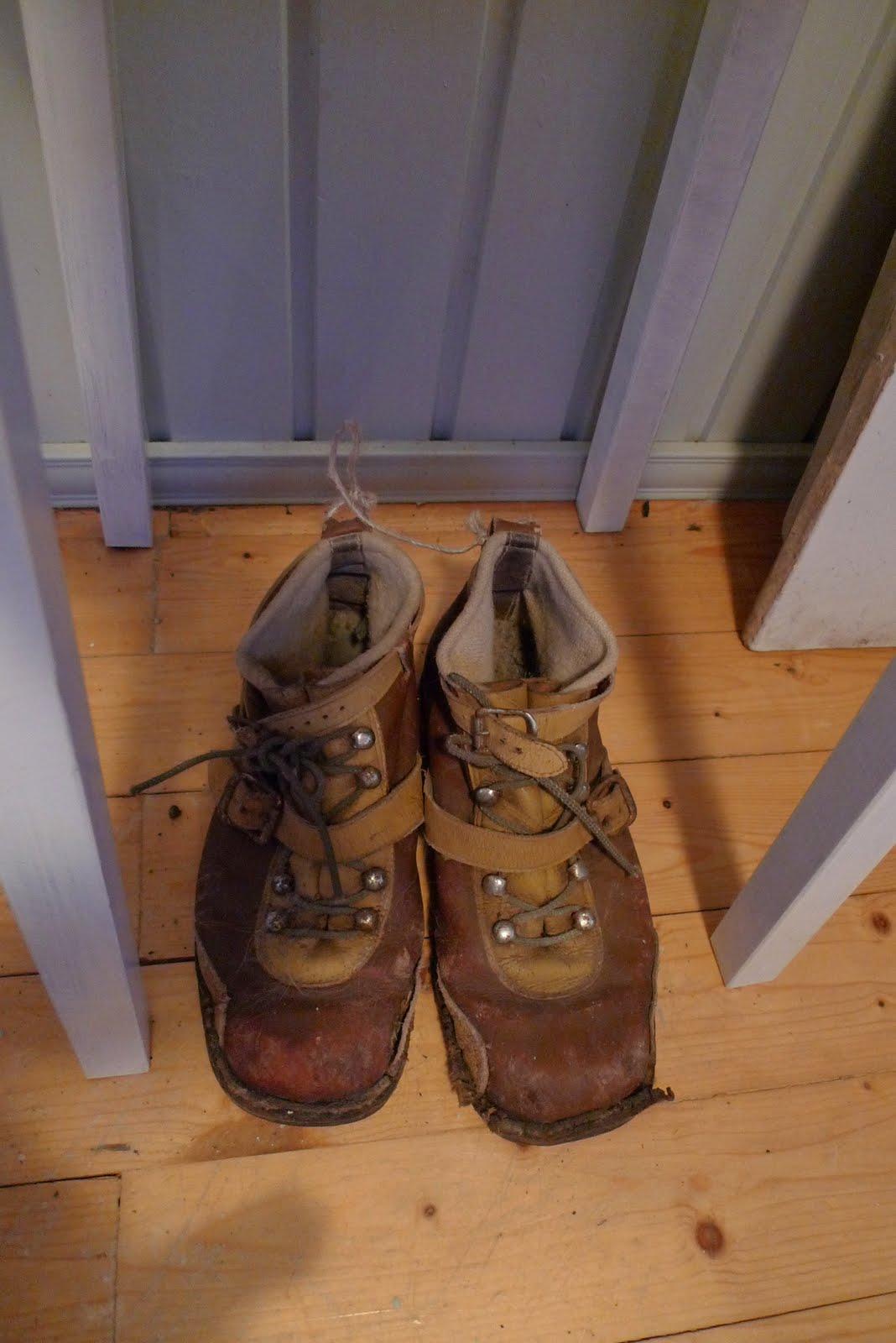antikt skodon för skådis