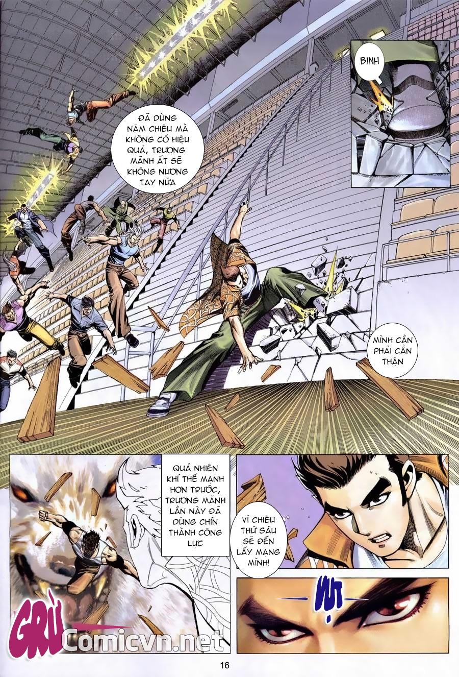 Xích Trụ Phạn Đường chap 7 - Trang 16